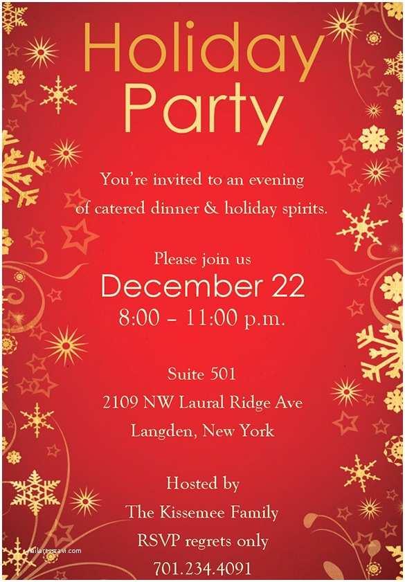 Free Christmas Party Invitation Templates Holiday Invitation Template – 17 Psd Vector Eps Ai Pdf