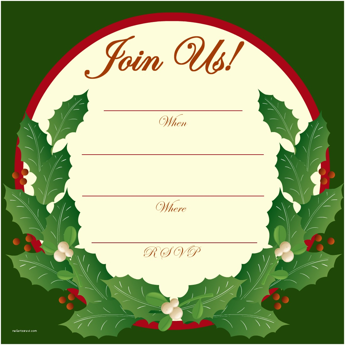 Free Christmas Party Invitations Christmas Wallpapers and and S Christmas