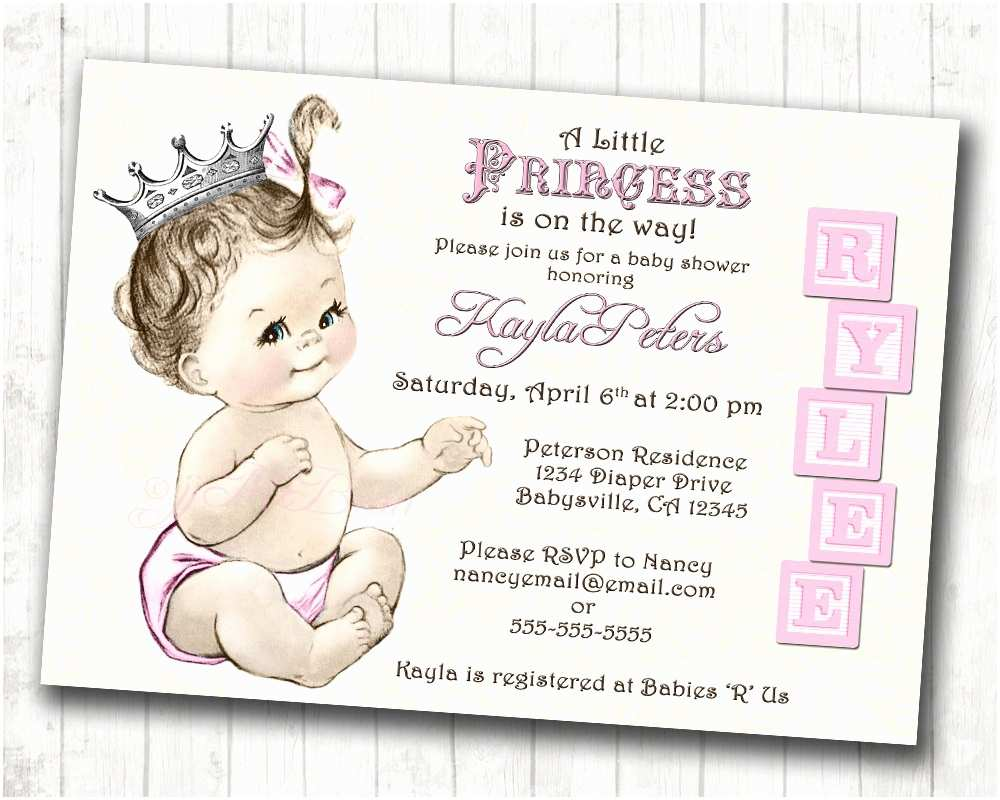 Free Downloadable Baby Shower Invitations Free Printable Princess Baby Shower Invitations Free