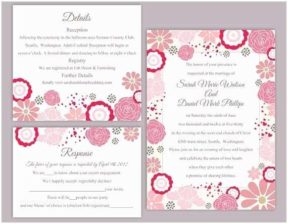 Free Editable Wedding Invitation Editable Wedding Invitation Templates Free Download