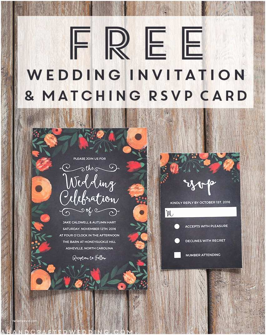 Free Editable Wedding Invitation Free Whimsical Wedding Invitation