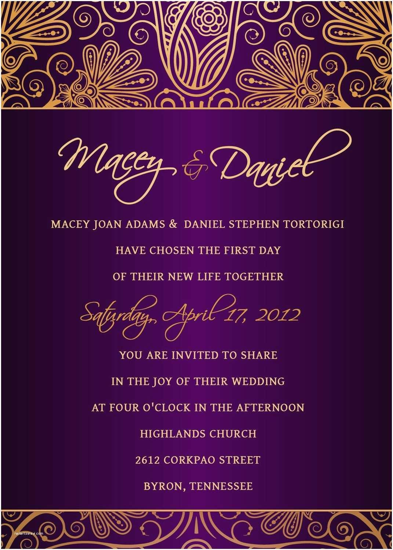 Free Editable Wedding Invitation Invitation S Shop Invitation