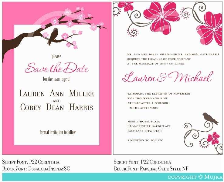 Free Editable Wedding Invitation Marriage Invitation  Invitation