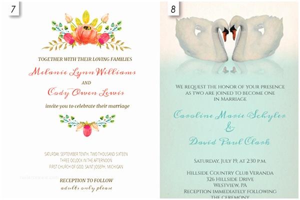 Free Editable Wedding Invitation Templates 12 Editable Wedding Invitation Templates Free Download