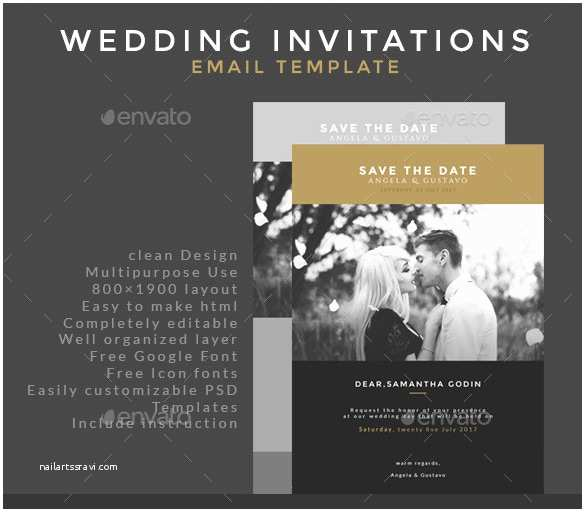 Free Email Wedding Invitation Templates 25 Email Invitation Templates Psd Vector Eps Ai