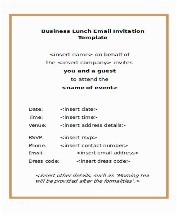 Free Email Wedding Invitation Templates 6 Business E Mail Invitation Template Design Templates
