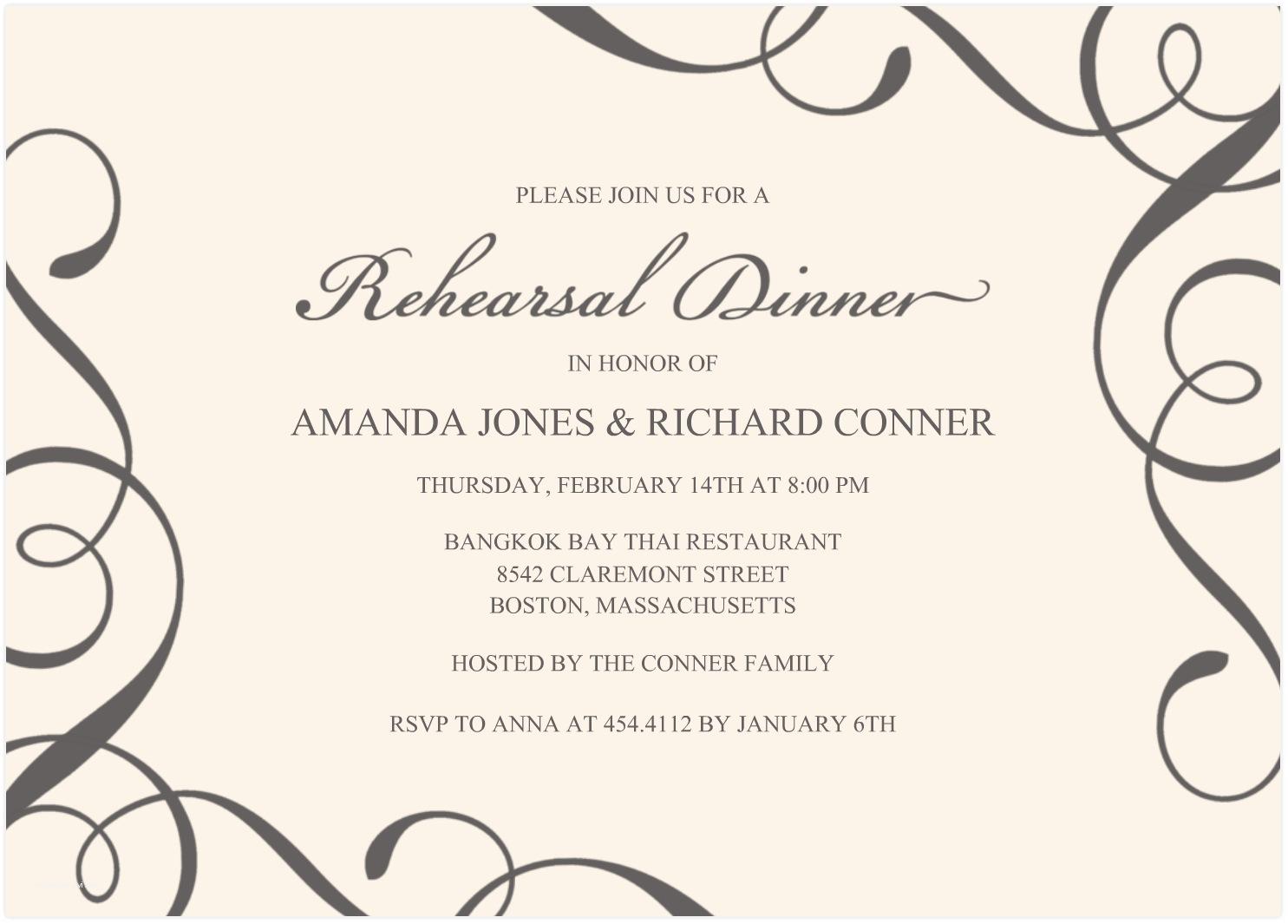 Free Email Wedding Invitation Templates Gala Dinner Invitation Template