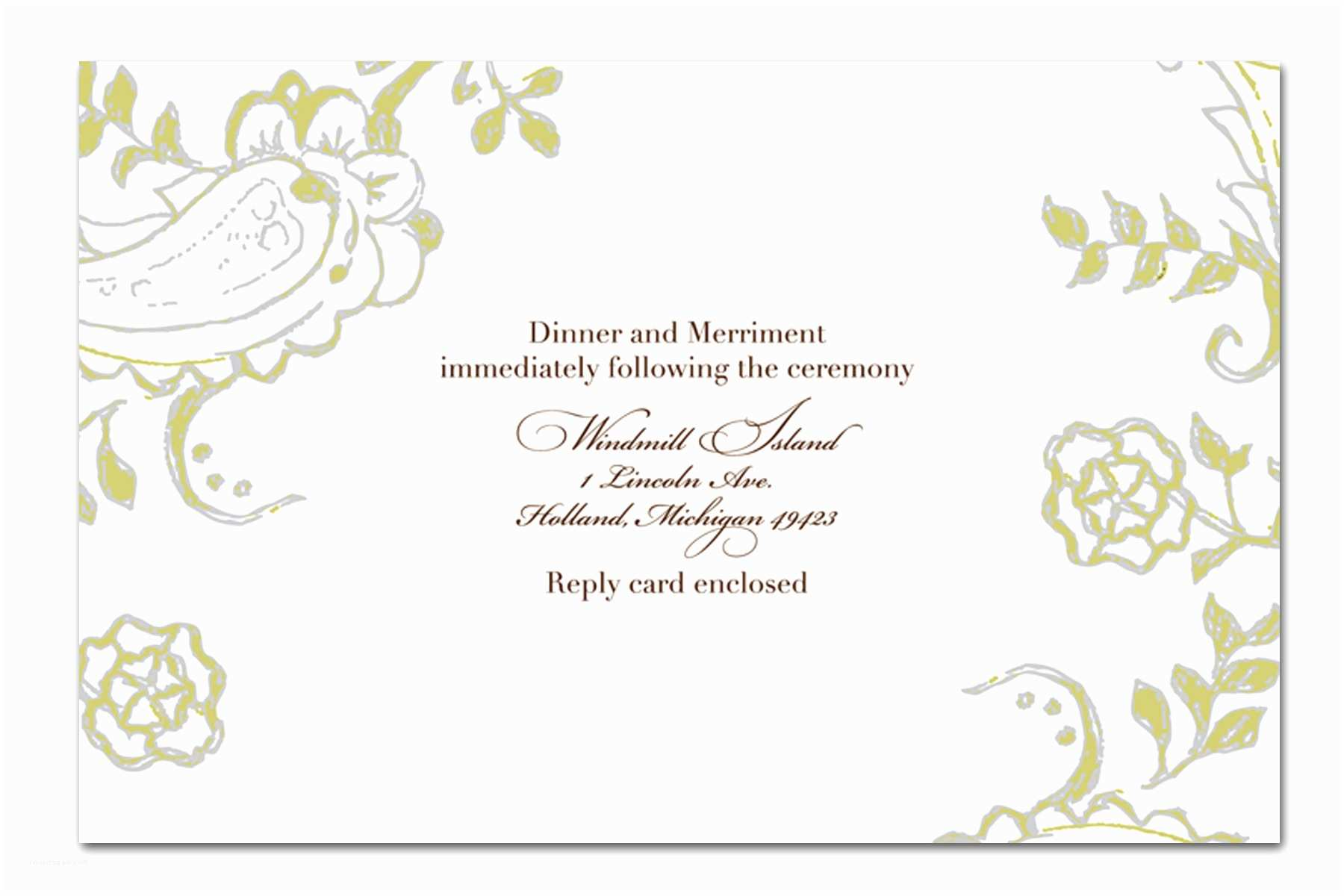 Free Email Wedding Invitation Templates Handmade Wedding Invitation Template Design