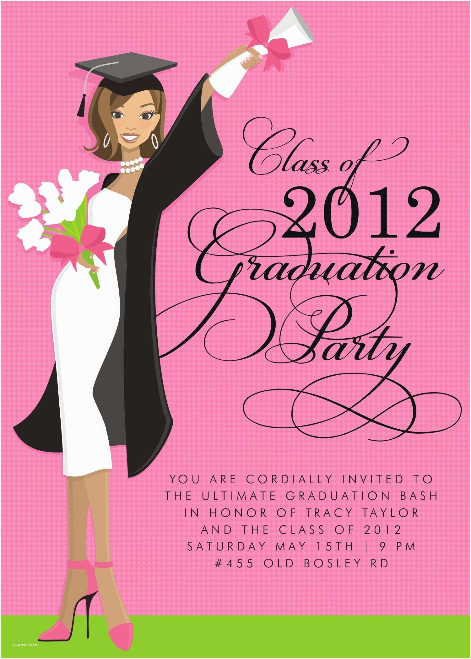 Free Graduation Invitations Create Own Graduation Party Invitations Templates Free