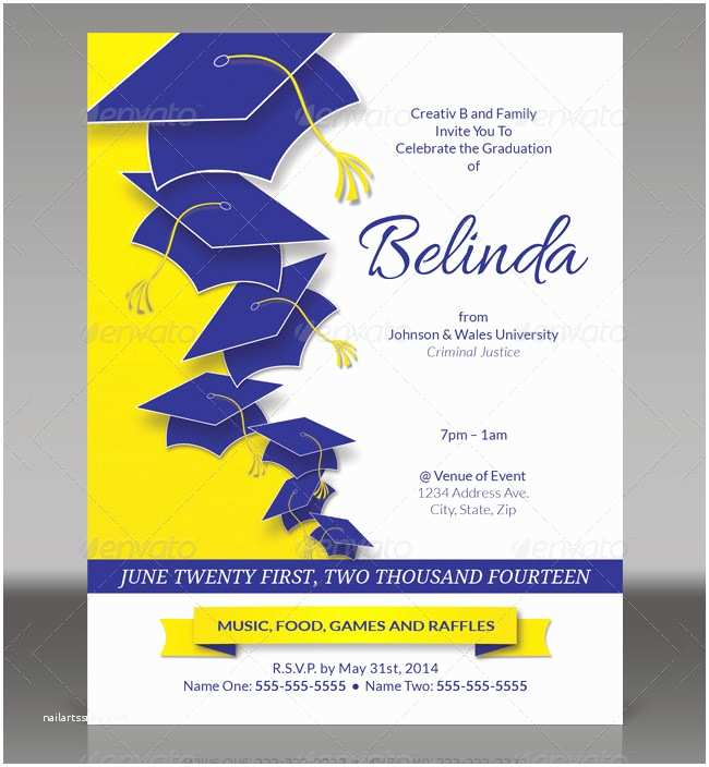 Free Graduation Party Invitation Templates for Word 19 Graduation Invitation Templates Invitation Templates