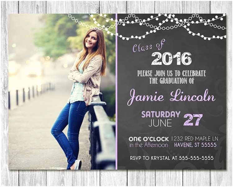 Free Graduation Party Invitation Templates for Word 26 Graduation Invitation Templates Free Word Designs