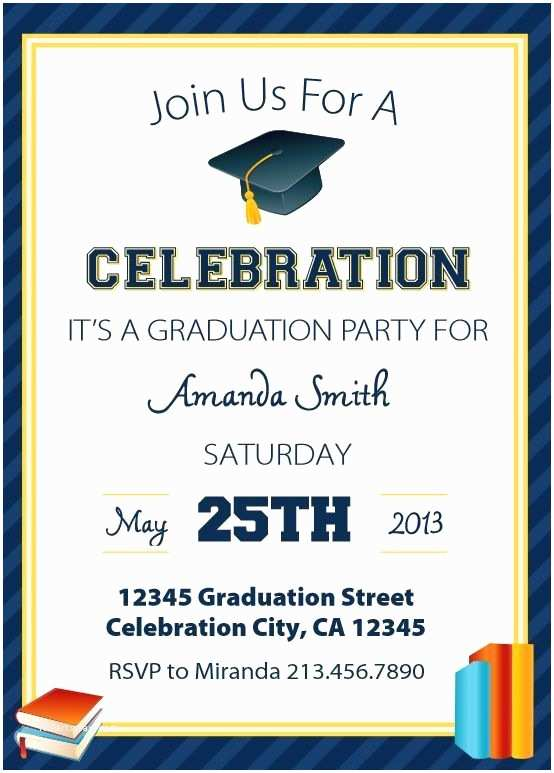 Free Graduation Party Invitation Templates Save Money with these Free Printable Graduation