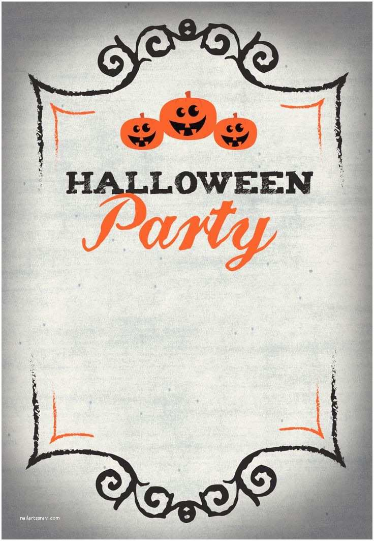 Free Halloween Party Invitations Best 25 Halloween Party Invitations Ideas On Pinterest