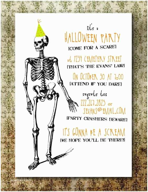 Free Halloween Party Invitations Pinterest • the World's Catalog Of Ideas