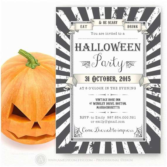 Free Halloween Party Invitations Printable Halloween Party Invitations Templates Adult