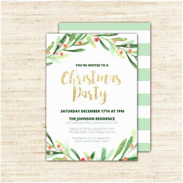 Free Holiday Party Invitation Templates 20 Christmas Party Invitation Templates Christmas Party
