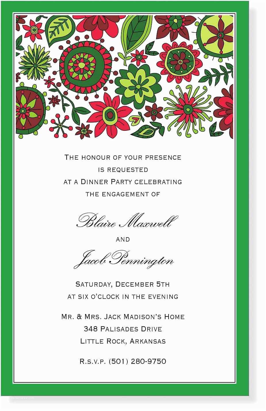 Free Holiday Party Invitation Templates Christmas Party Invitation Template
