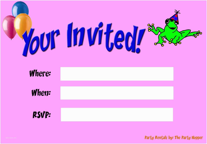 free birthday invitation maker online