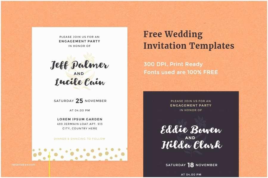 Free Online Wedding Invitation Templates Free Wedding Invitation Templates