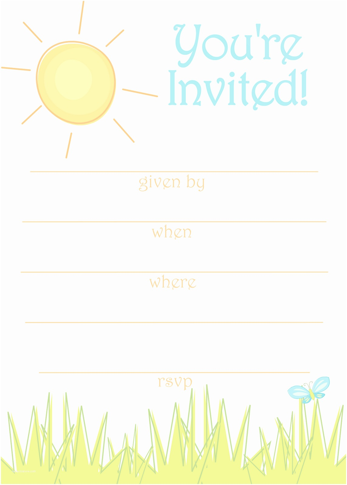 Free Party Invitation Template Free Party Invitation Templates