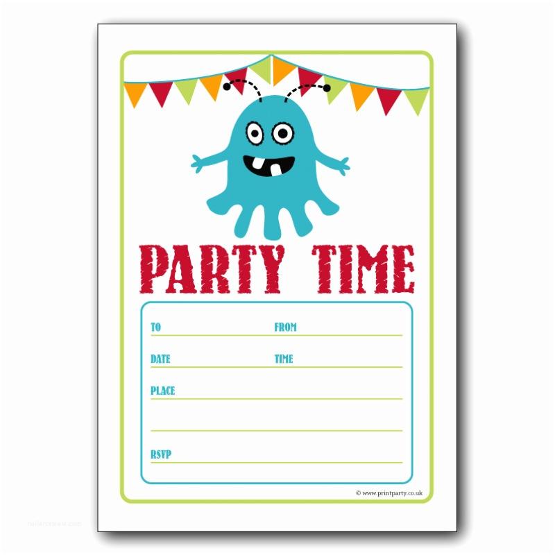 Free Party Invitation Templates Free Birthday Party Invitation Templates for Word