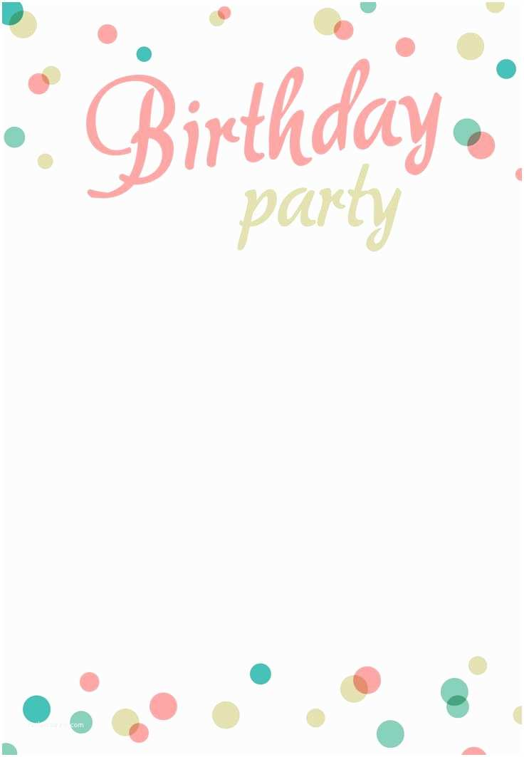 Free Party Invitations Invitation Card Design for Birthday Party Techllcfo