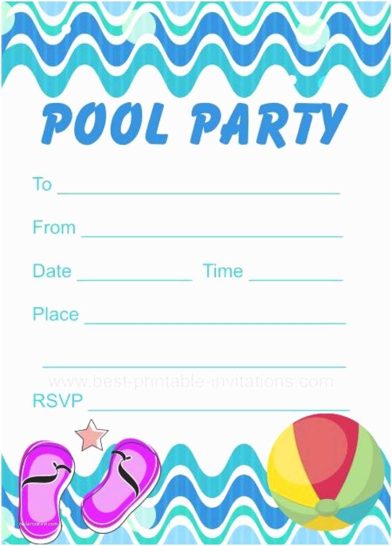 Free Pool Party Invitations Free Pool Party Invitation Printable – orderecigsjuicefo