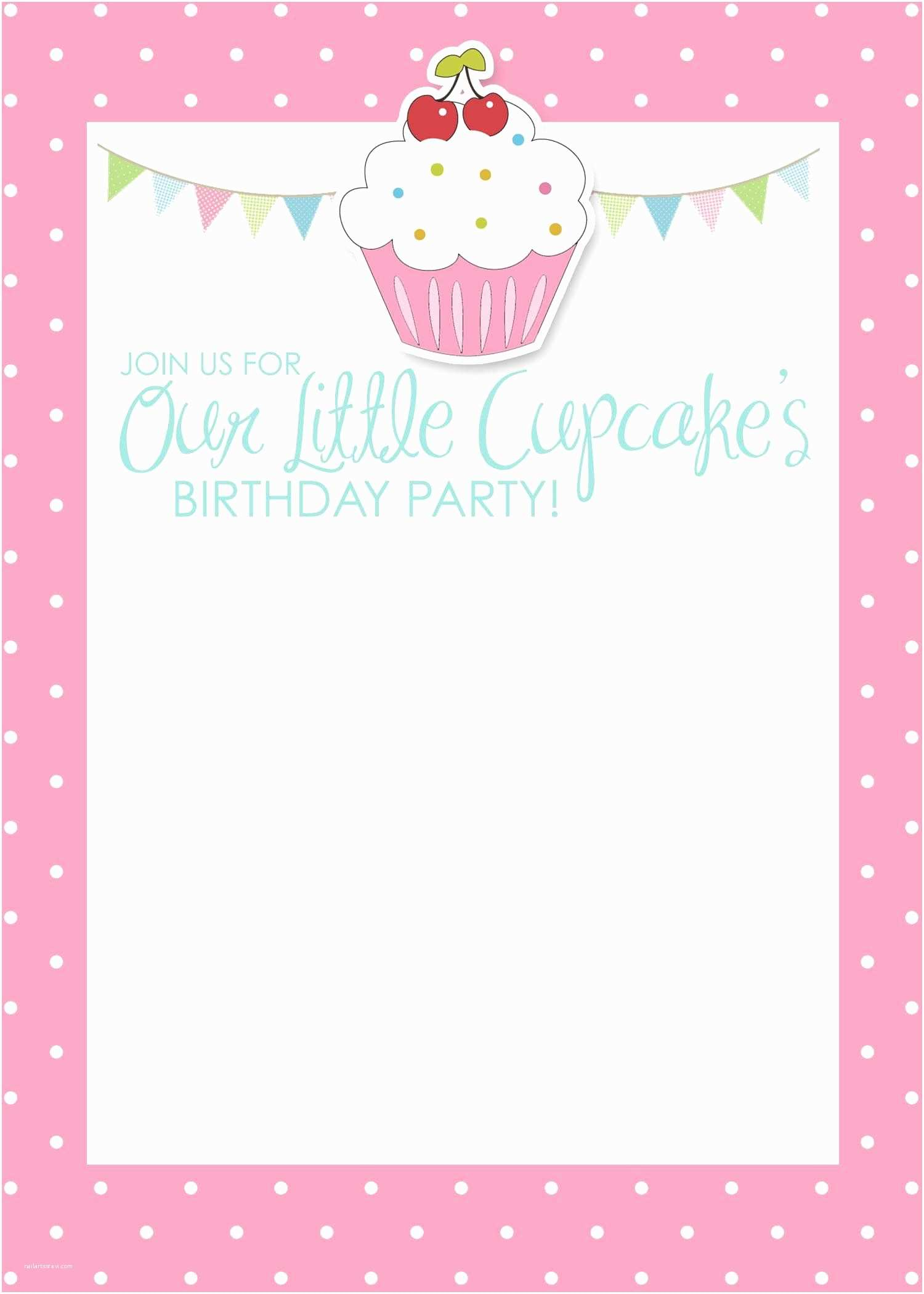 Free Printable Birthday Party Invitations Birthday Invitation Card Template Free