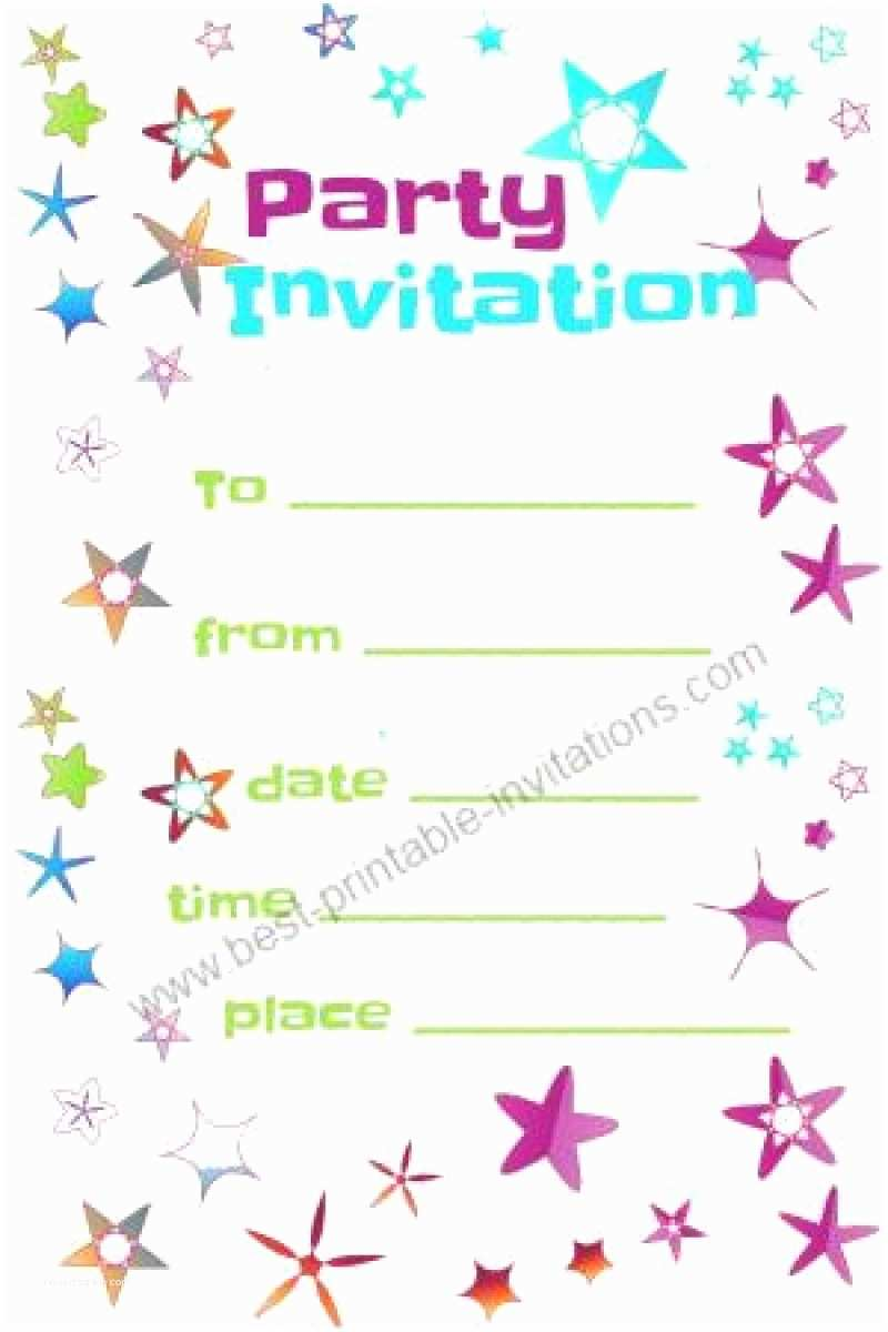 Free Printable Birthday Party Invitations Free Party Invitation to Print Out – orderecigsjuicefo
