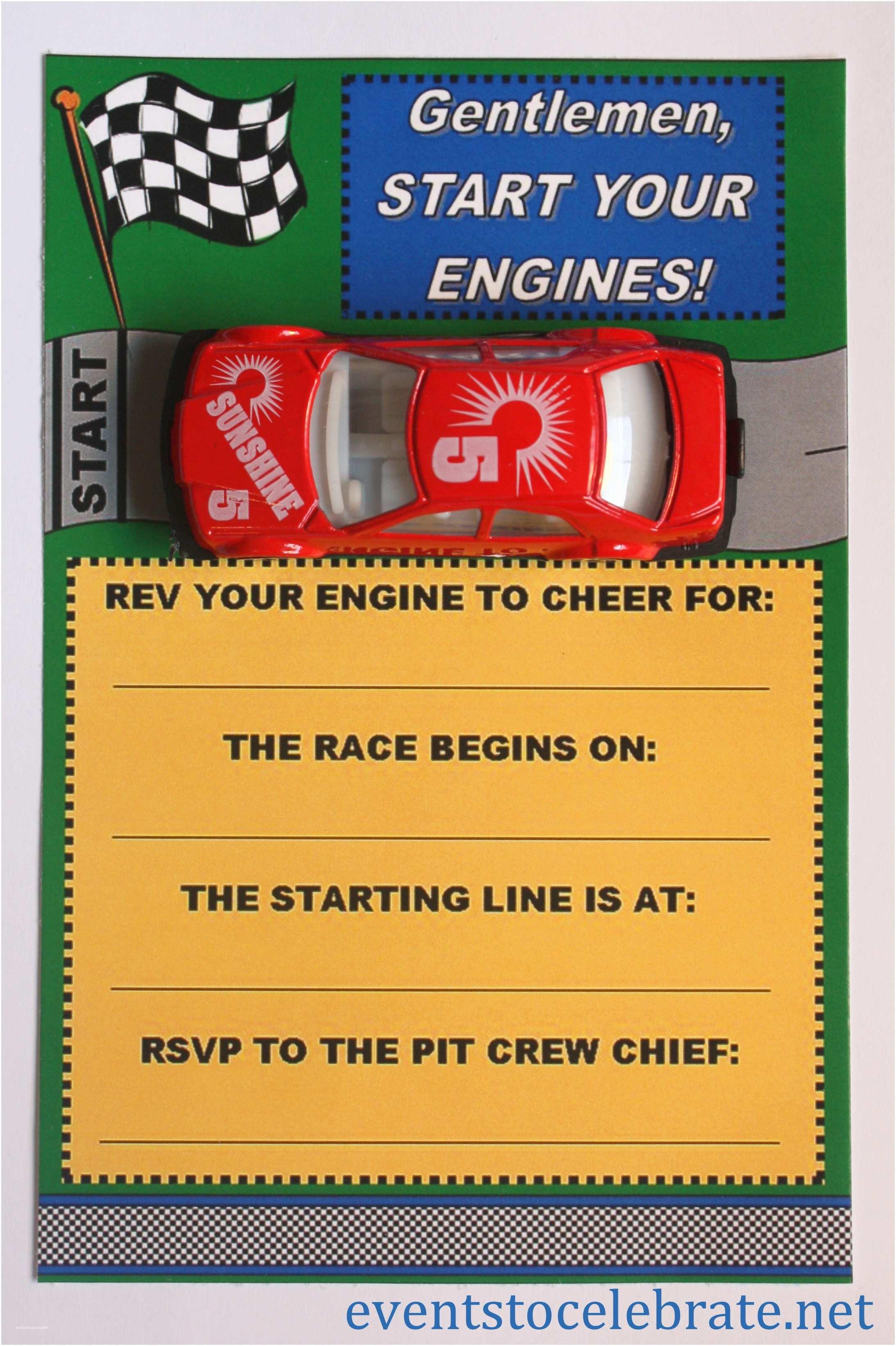 Free Printable Birthday Party Invitations Free Printable Invitations Army Car Racing & Swim Party