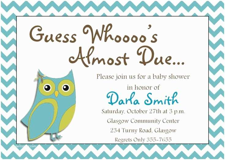 Free Printable Owl Baby Shower Invitations 10 Best Stunning Free Printable Baby Shower Invitations