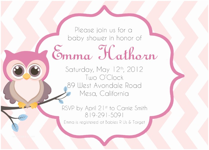 Free Printable Owl Baby Shower Invitations Baby Owl Invitations Clipart Clipart Suggest