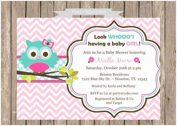 Free Printable Owl Baby Shower Invitations Free Printable Owl Baby Shower Invitations