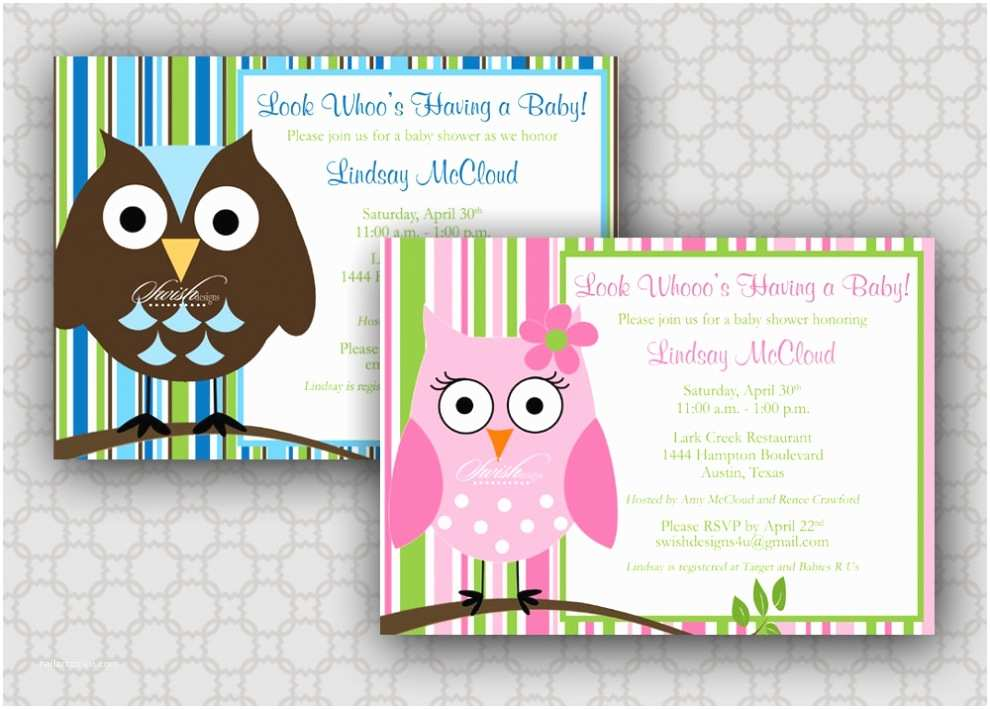 Free Printable Owl Baby Shower Invitations top Printable Owl Baby Shower Invitations for Your Inspir