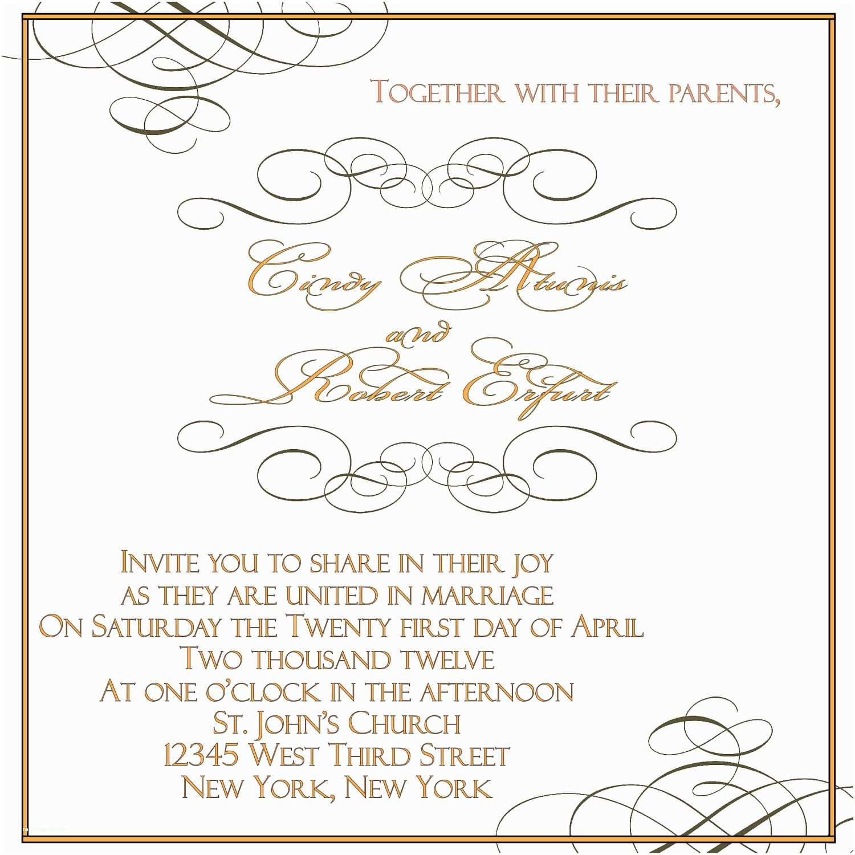 Free Printable Wedding Invitation Templates Applying the Wedding Planning Templates