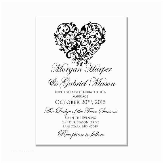 Free Printable Wedding Invitation Templates for Microsoft Word Blank Wedding Invitation Card Template Matik for