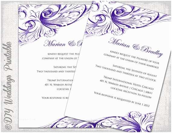 Free Printable Wedding Invitation Templates for Microsoft Word Free Wedding Invitation Card Templates Download