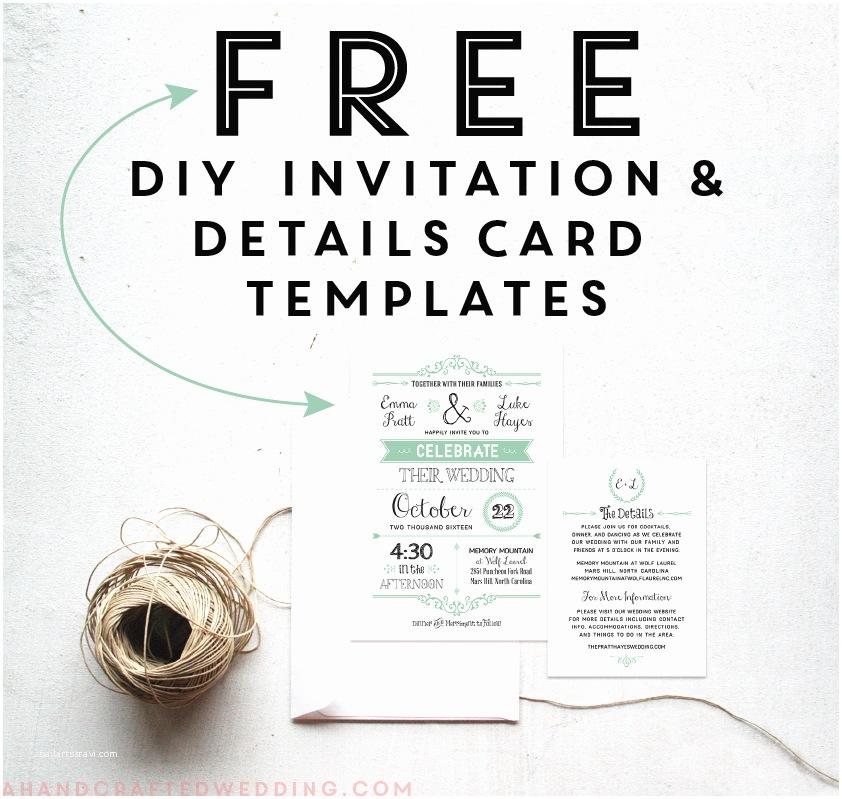 Free Printable Wedding Invitation Templates for Microsoft Word Free Wedding Invitation Templates for Word