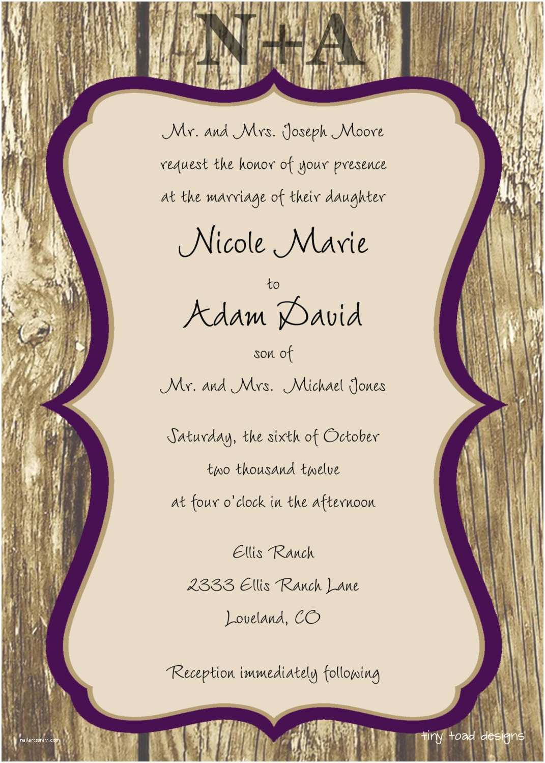 Free Printable Wedding Invitation Templates Free Wedding Invitation Templates Weddingwoow