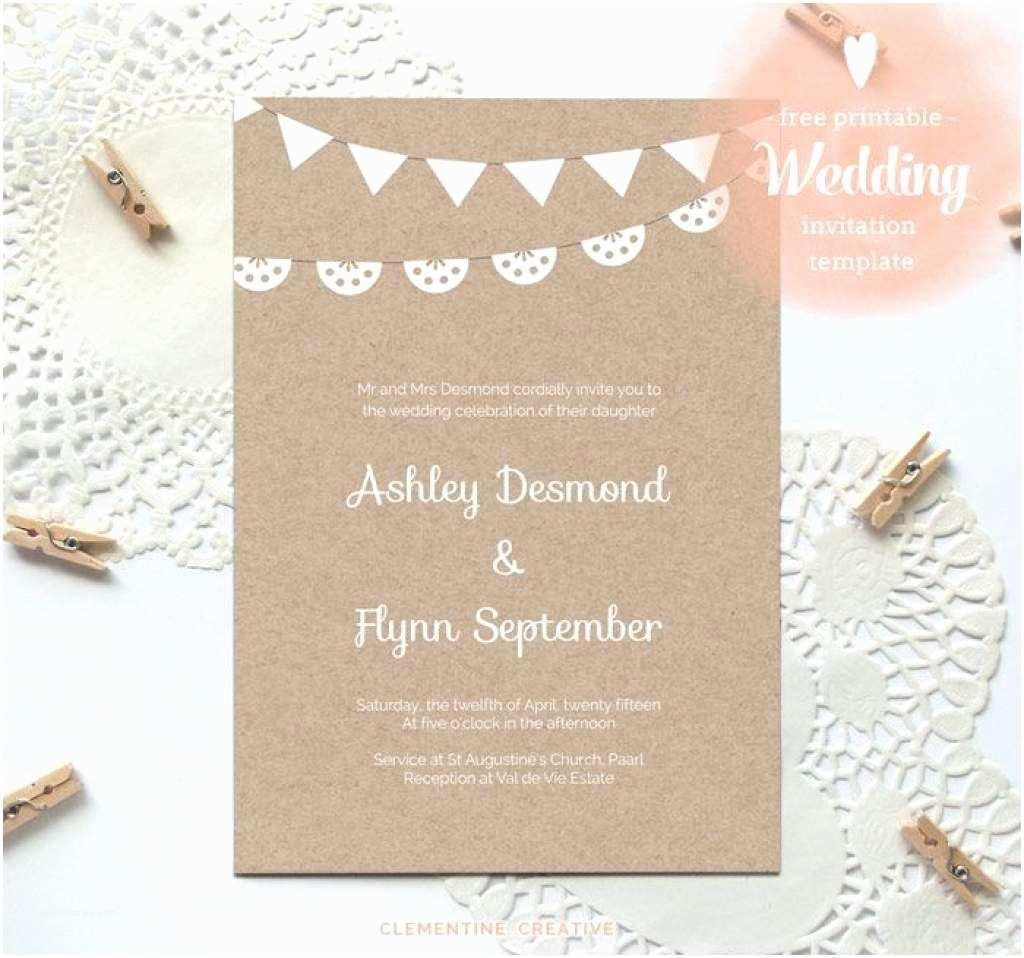 Free Printable Wedding Invitations Free Printable Wedding Invitations