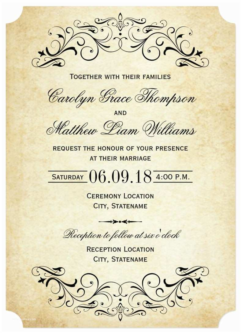 Free Printable Wedding Invitations Templates Downloads 31 Elegant Wedding Invitation Templates – Free Sample
