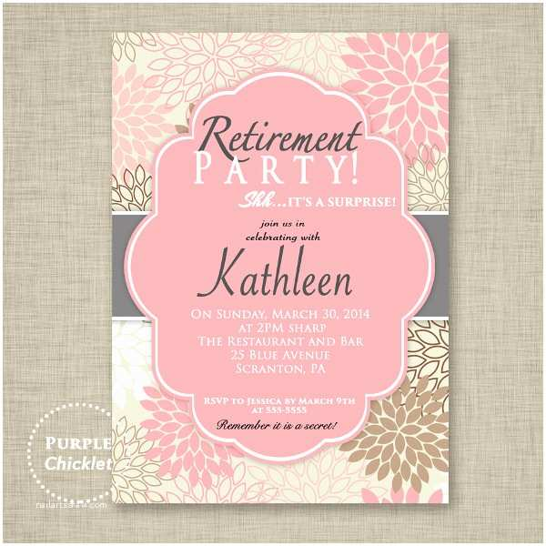 Free Retirement Invitation Templates 8 Surprise Invitation Templates Free Editable Psd Ai