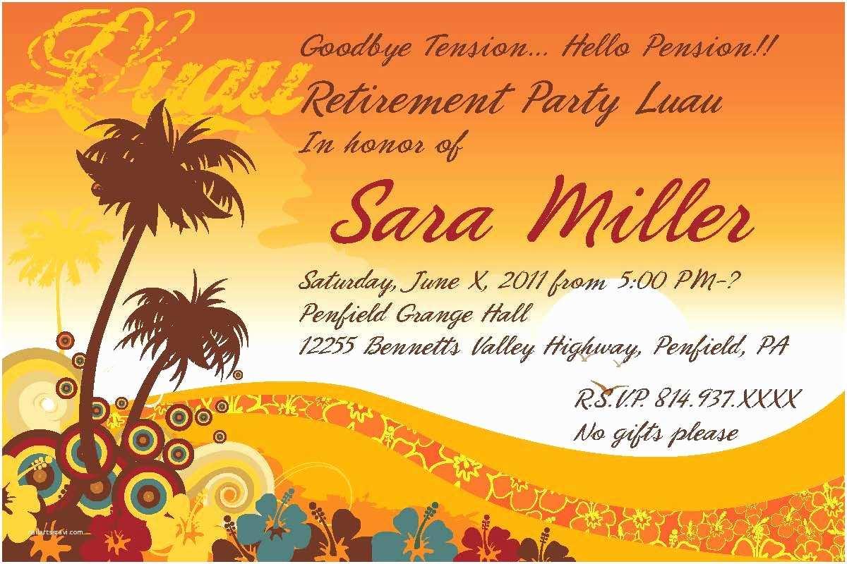 Free Retirement Invitation Templates Retirement Party Invitation Template Free