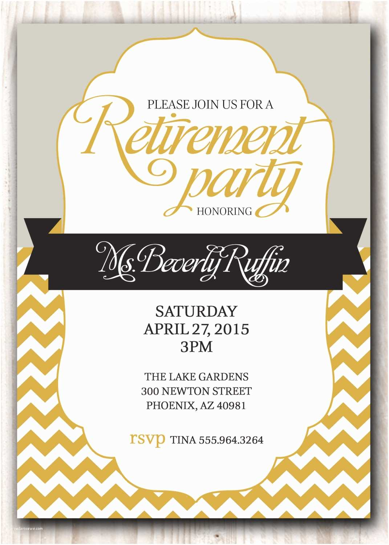 Free Retirement Invitations Free Printable Retirement Party Invitations