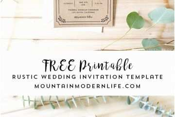 graphic regarding Free Printable Rustic Wedding Invitations identify Cost-free Rustic Marriage Invitation Templates Absolutely free Printable