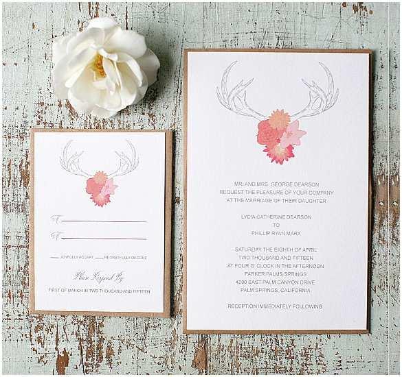 Free Rustic Wedding Invitation Templates Rustic Wedding Invitation – 18 Psd Eps Indesign formats