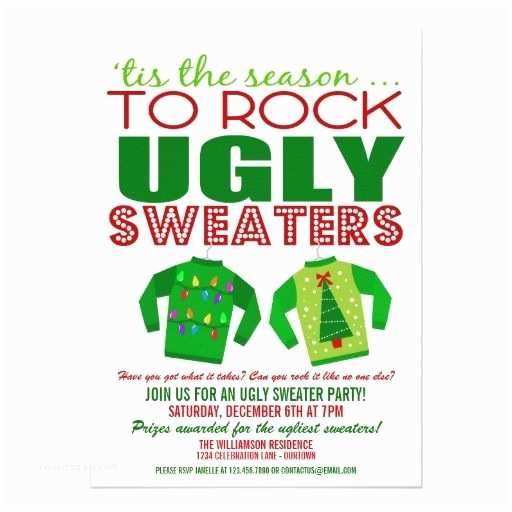 Free Ugly Sweater Party Invitations 17 Images About Christmas Holiday Party Invitations On