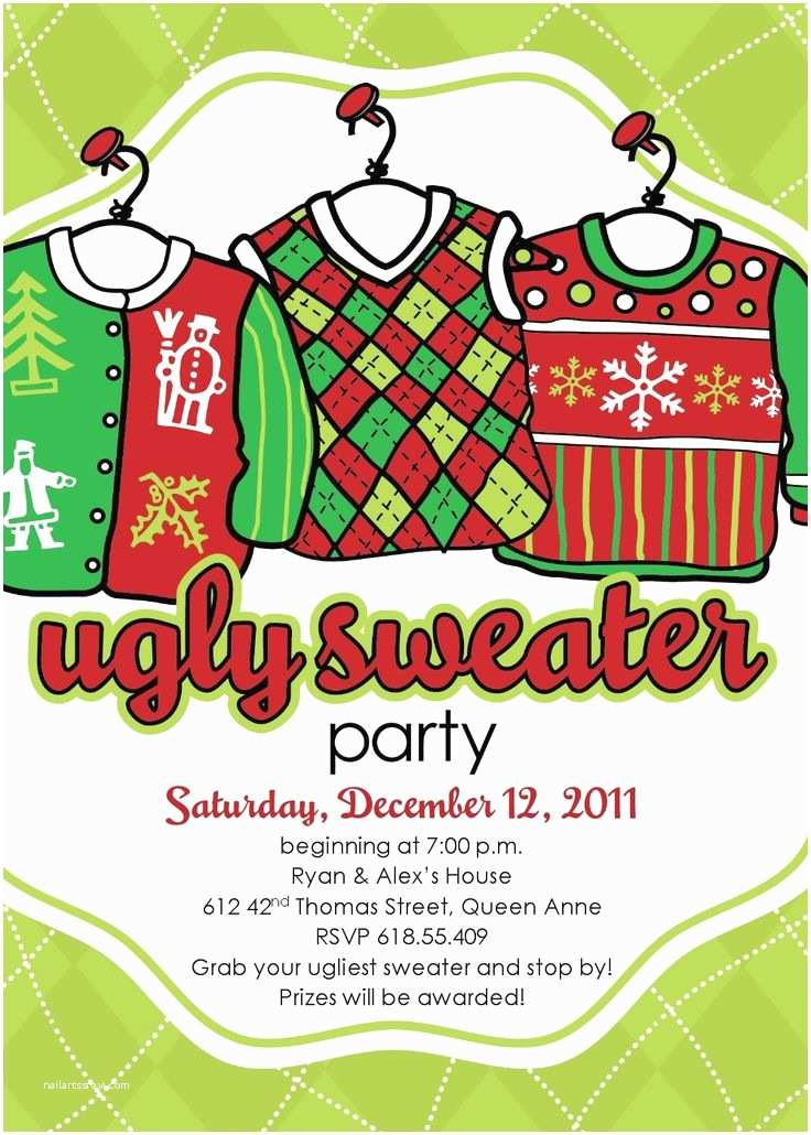 Free Ugly Sweater Party Invitations 60 Best Christmas Ugly Sweater Party Images On Pinterest