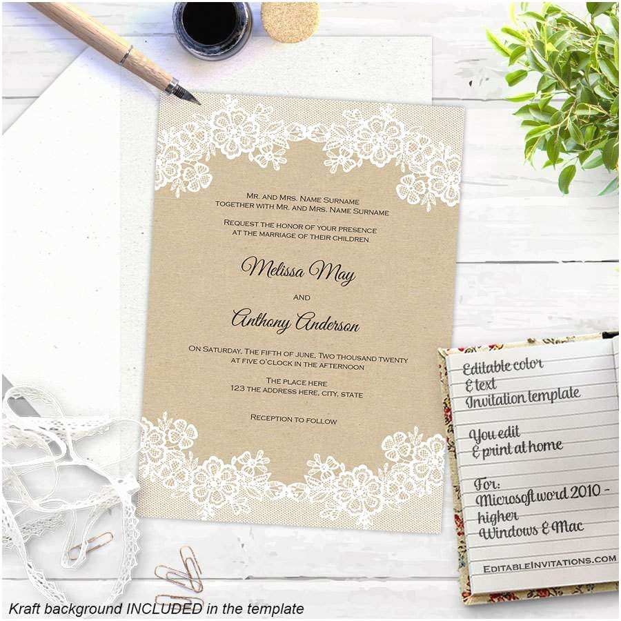 free wedding invitation templates 16 printable wedding invitation