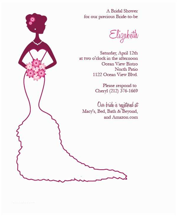 Free Wedding Shower Invitation Templates 22 Free Bridal Shower Printable Invitations All Free